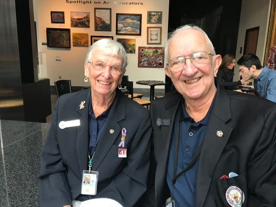 Janet and John Goebert have been volunteers at the George H.W. Bush Presidential Library and Museum since before it opened in November 1997.