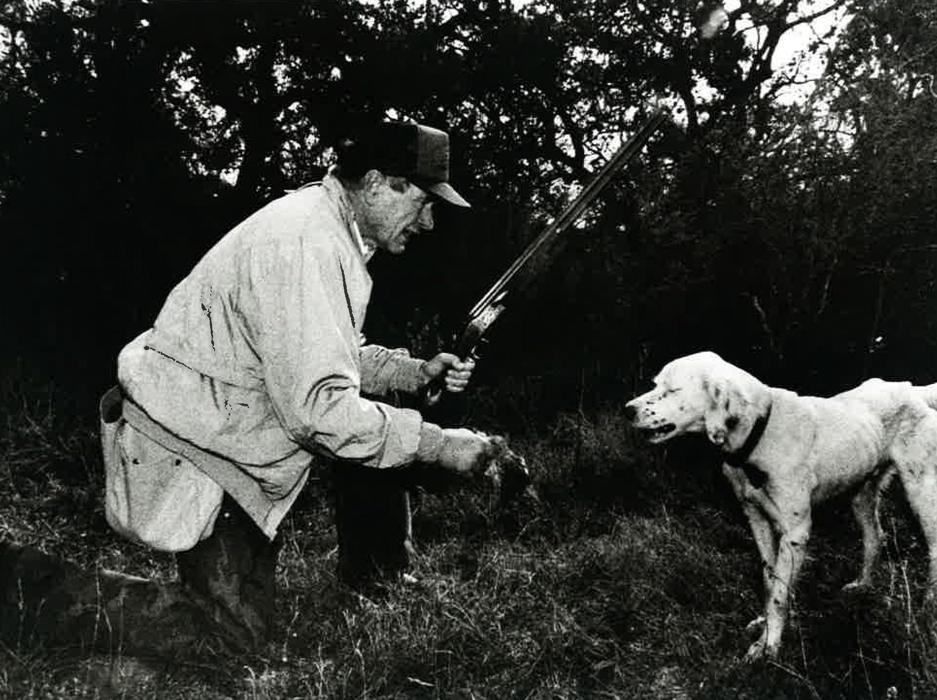 George H.W. Bush during a hunting trip near Beeville in 1991. Photo courtesy Bill Weeks.