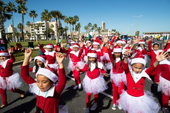 The 37th annual Harbor Lights Festival Children's Parade along North Shoreline Boulevard on Saturday, Dec. 1, 2018.