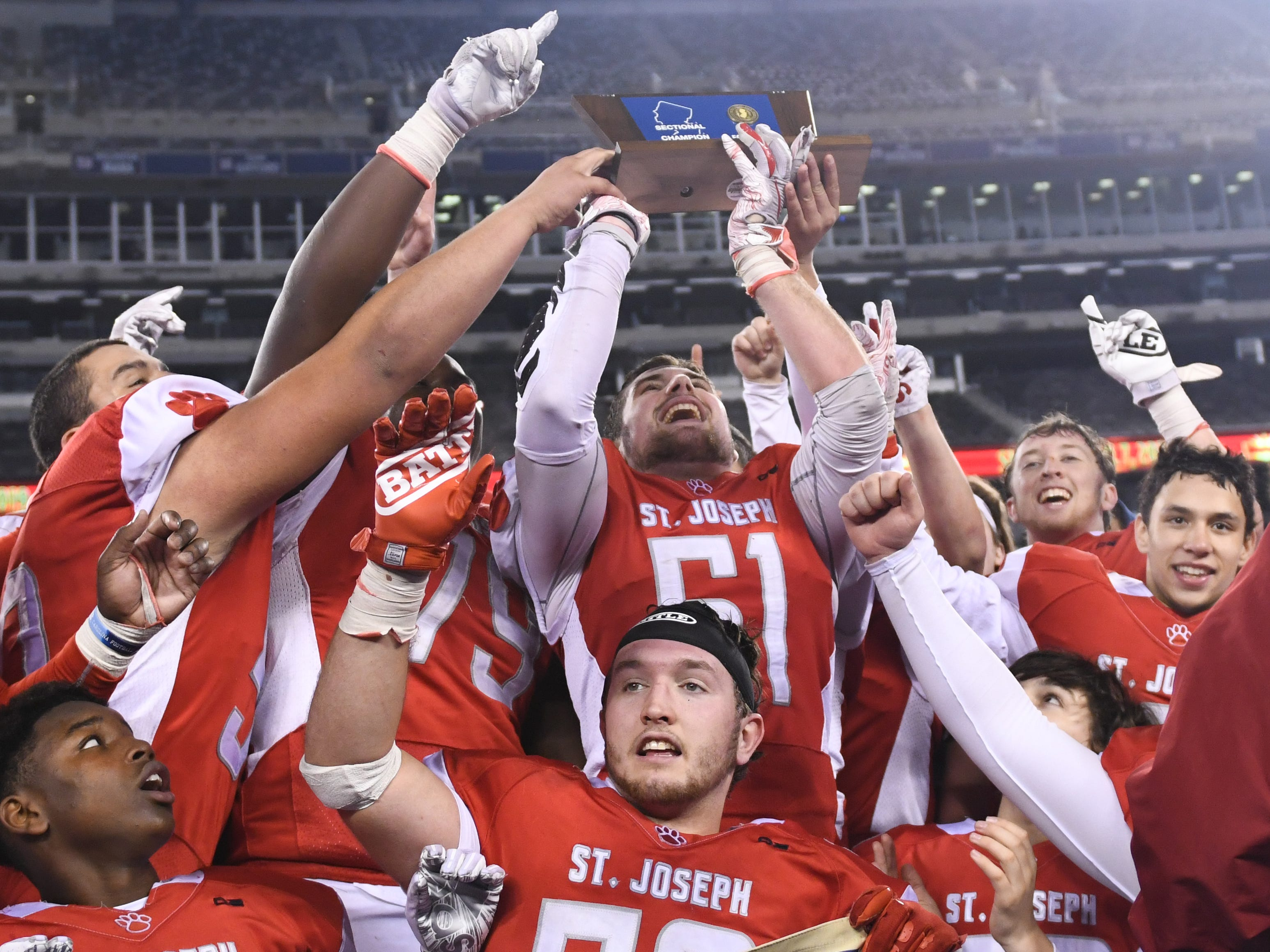 South Jersey football: St. Joseph overcomes season of adversity to win state championship