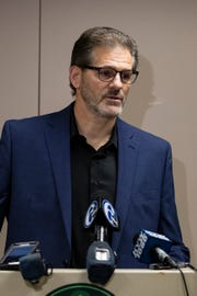Former Flyers general manager Ron Hextall was at the helm for four and one quarter seasons.