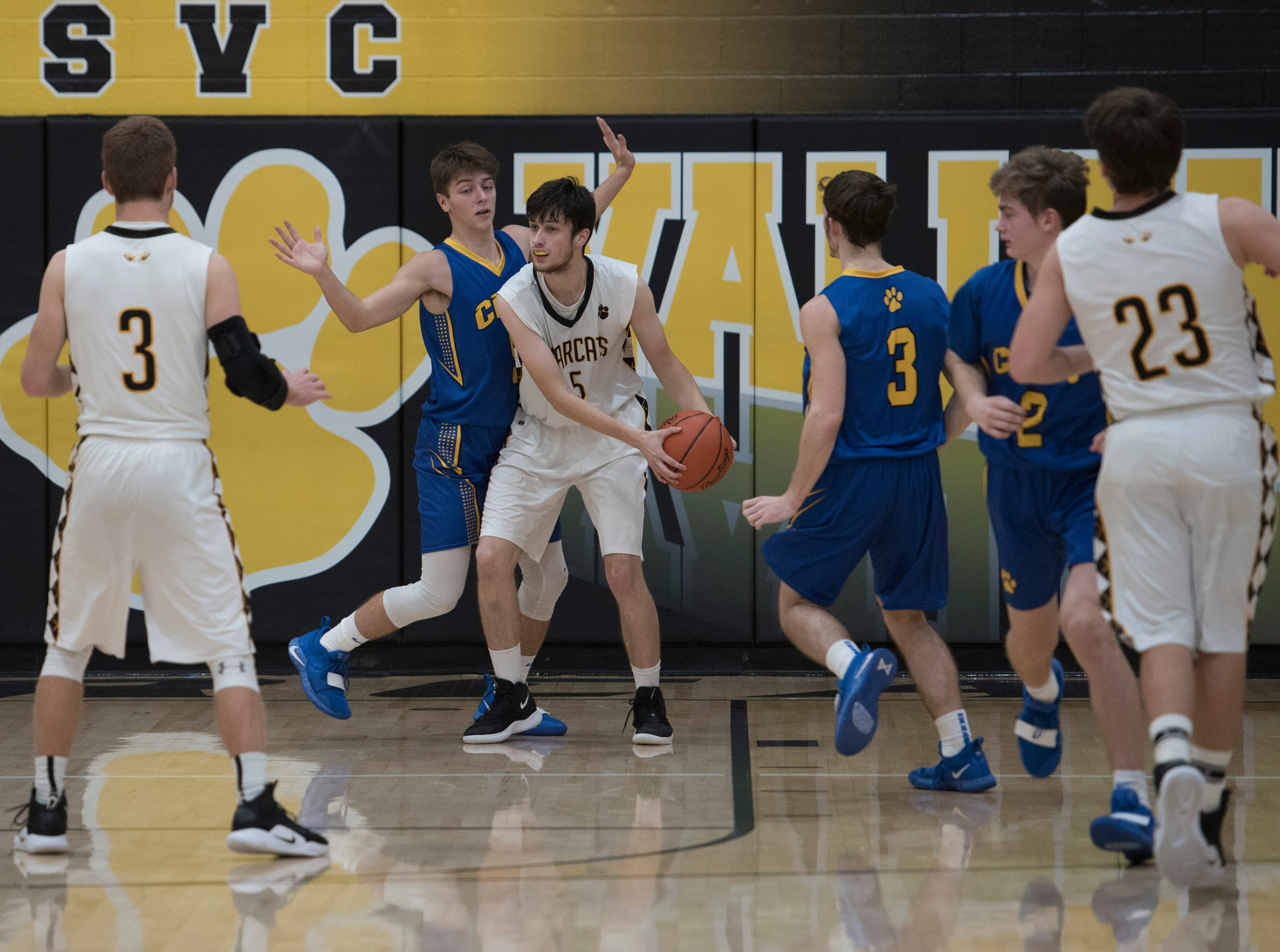 Paint Valley defeated Portsmouth Clay Friday night 63-55 at Paint Valley High School in Bainbridge, Ohio.