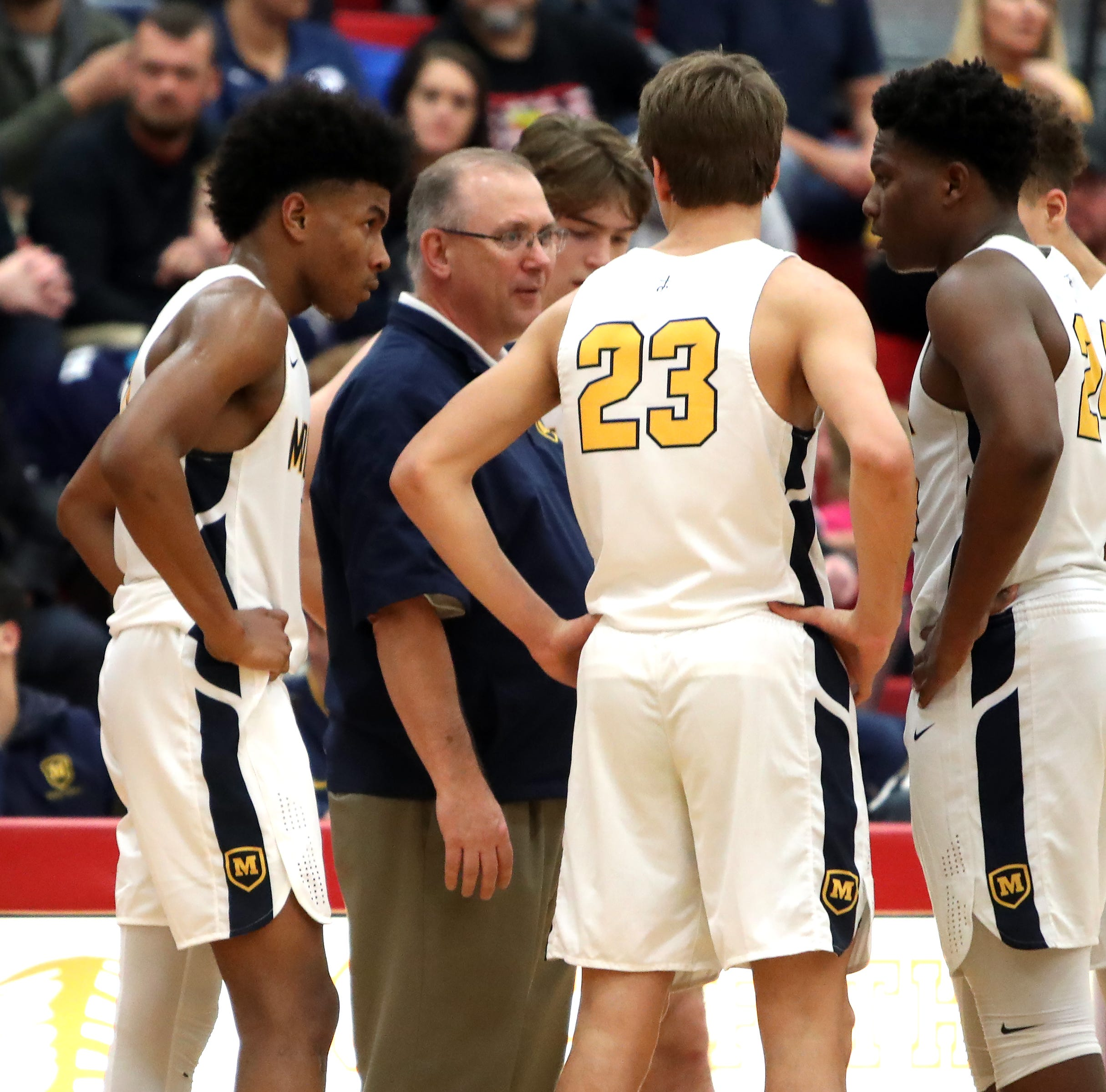 Your Ohio basketball team of the week: Moeller dominant, but not worried about repeating