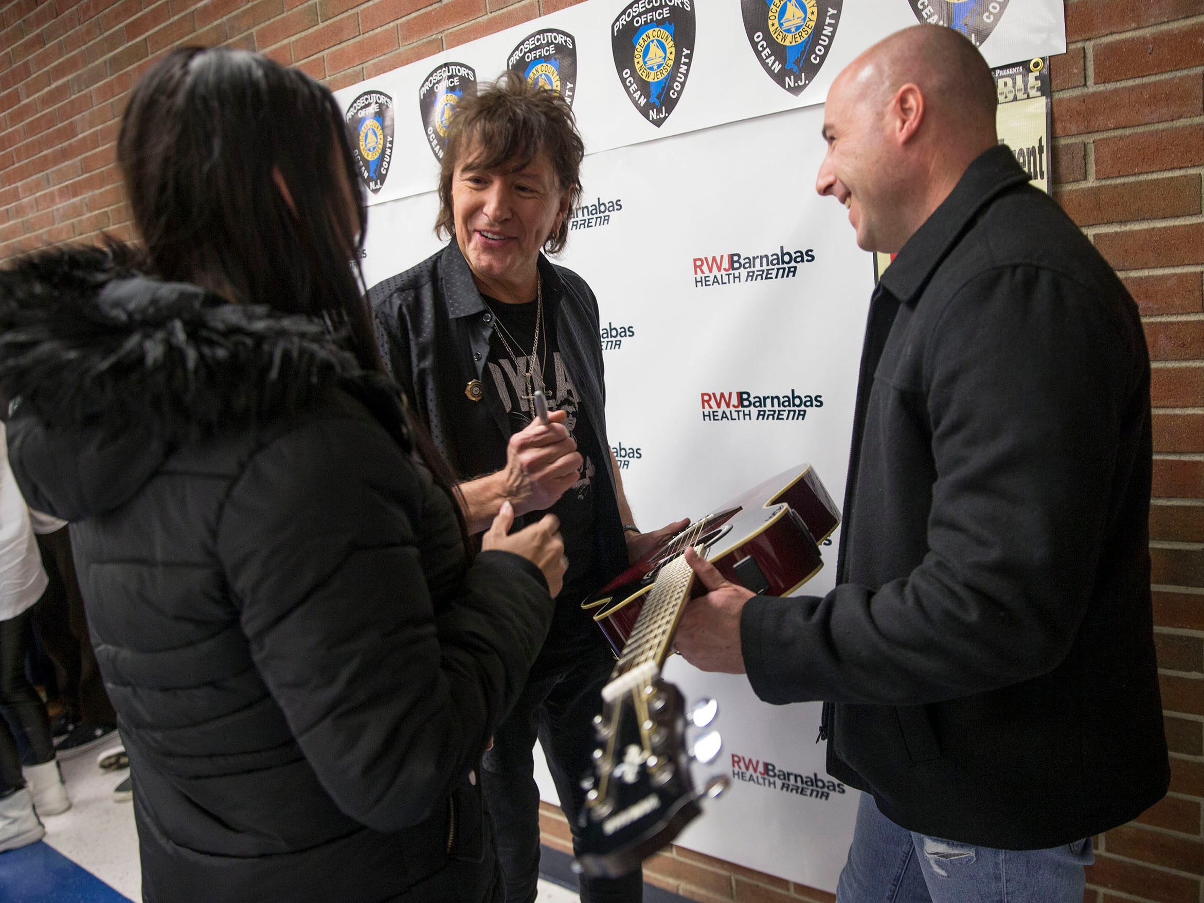 The Ocean County Prosecutor's Office presents Unbreakable, A Forum Against Bullying to bring attention to a problem experienced by many children. The show performed at RWJ Barnabas Health Arena included musician Richie Sambora, baseball player Todd Frazier, and actor Gaten Matarazzo among others.