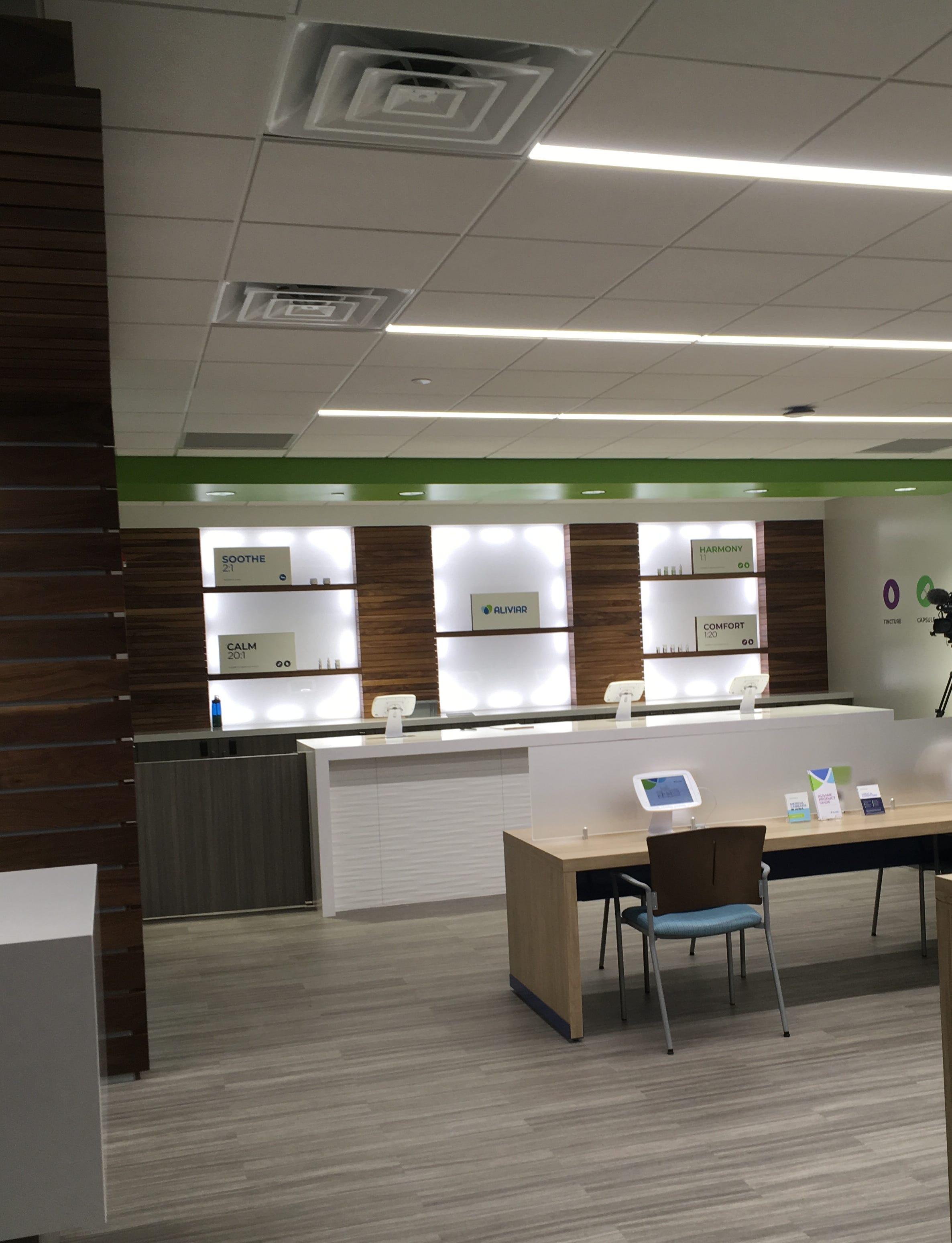A look inside the new MedPharm, medical marijuana dispensary, in Windsor Heights