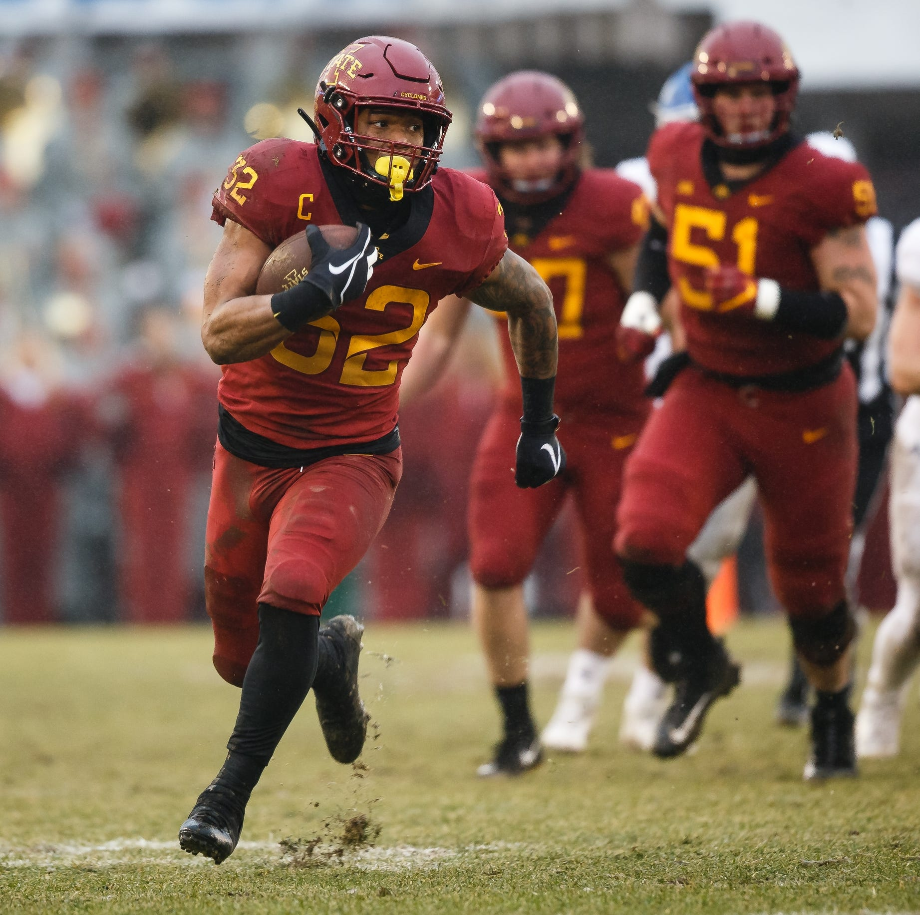 NFL Draft: What the Chicago Bears are getting in Iowa State running back David Montgomery