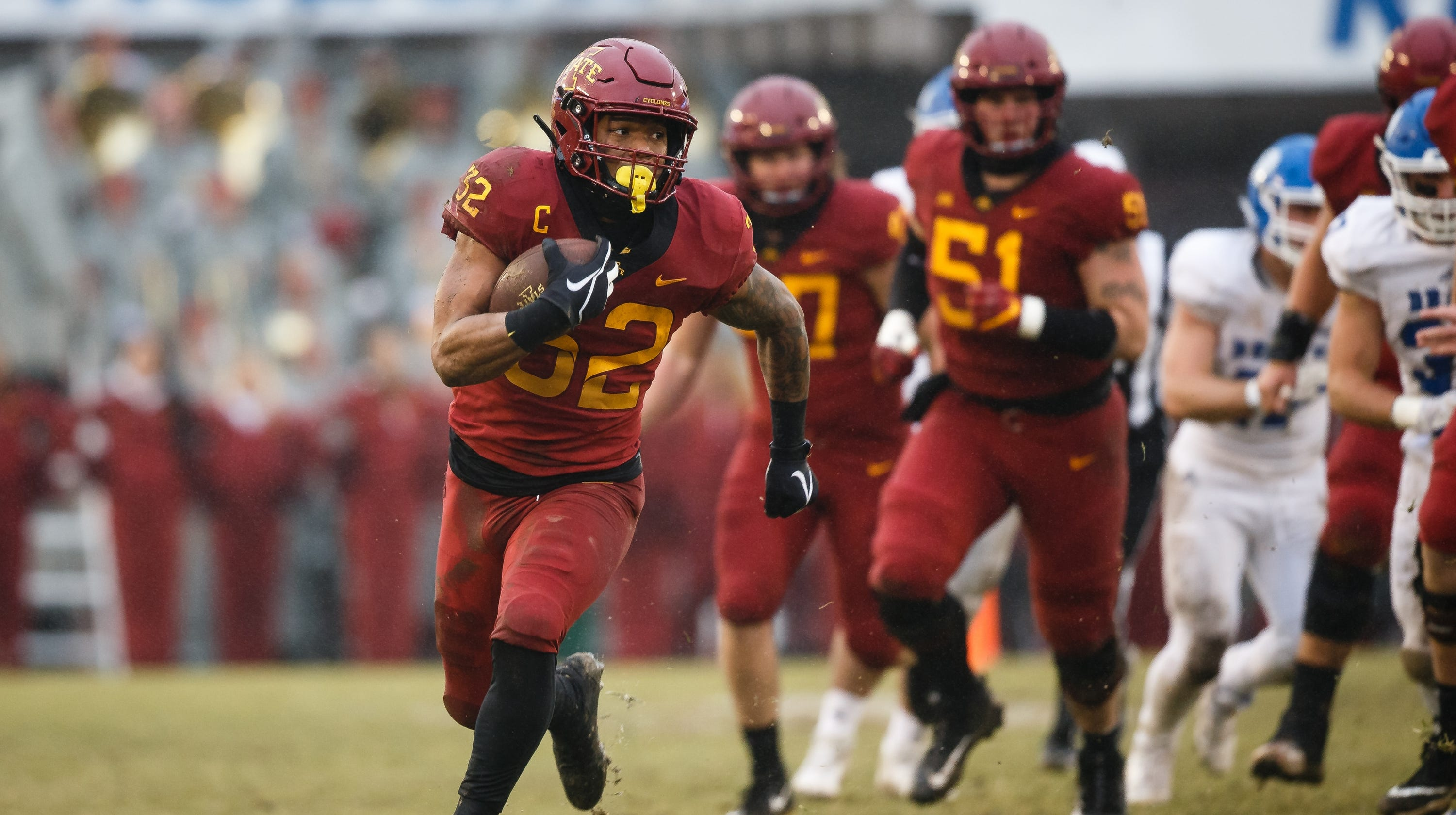 2daae075c61 NFL Draft: What the Chicago Bears are getting in Iowa State running back  David Montgomery