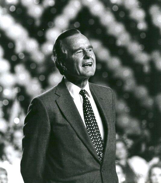 George Bush Michigan 03