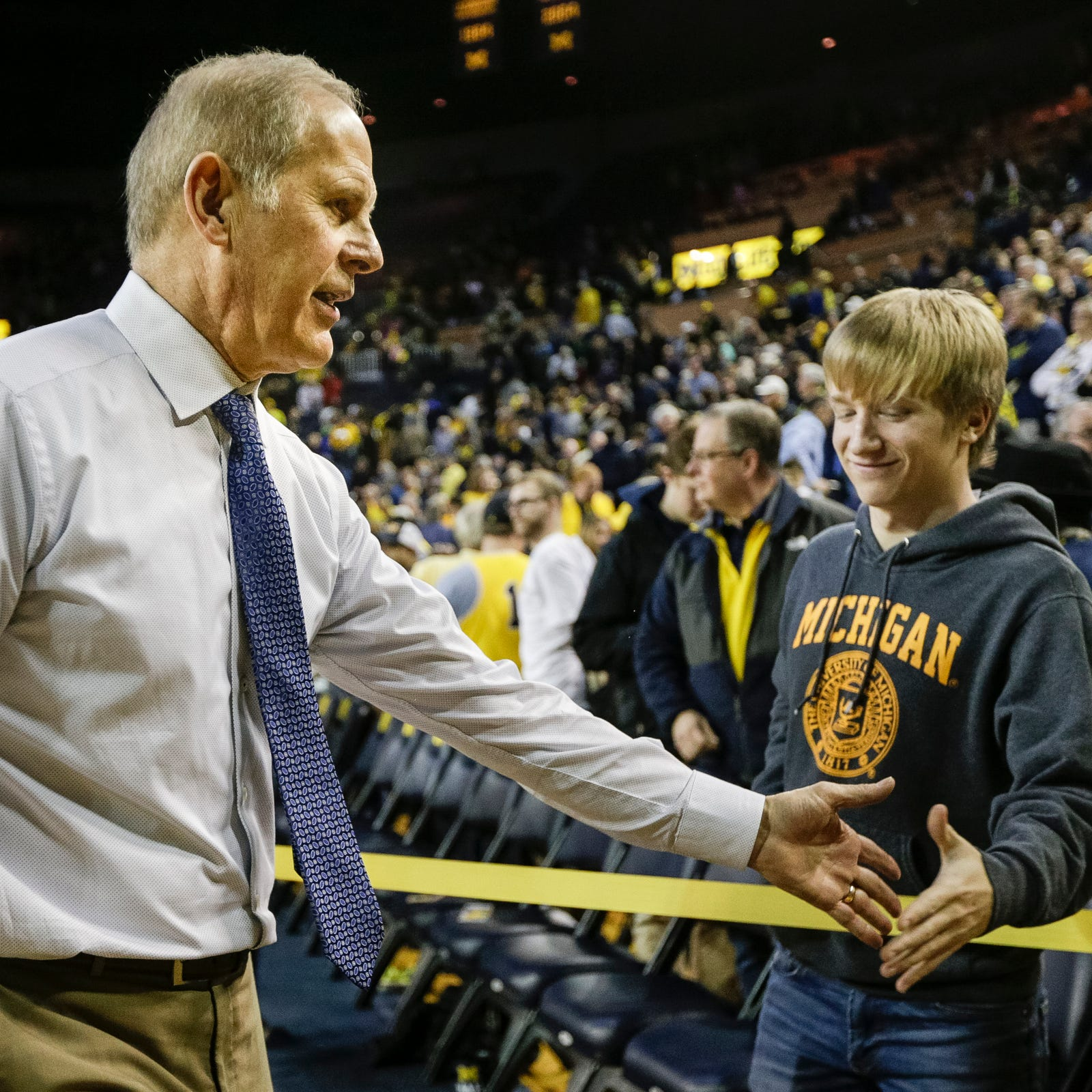 John Beilein thanks University of Michigan on Twitter: 'Go Blue Forever'