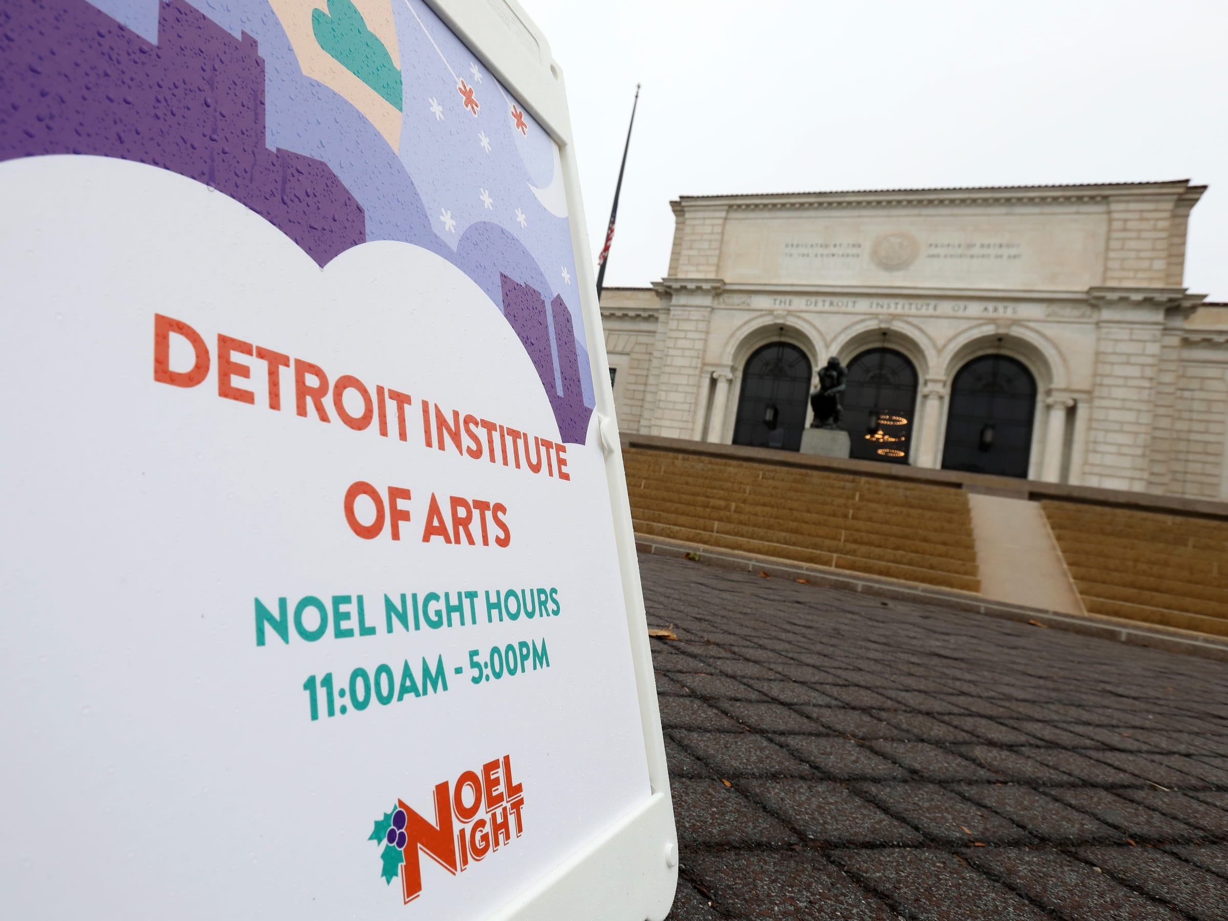 The Detroit Institute of Arts in Detroit on Saturday, December 1, 2018 was one of the venues hosting the daytime part of Noel Night.