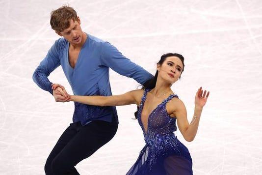 Figure Skating Winter Olympics Day 11