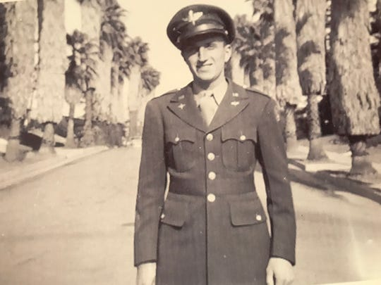 Chuck Kavalec served in the military in the 1940s during World War II.