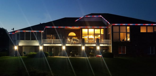 Oelo Lighting Solutions donated patio and colored lights to a nonprofit for veterans, the Oscar Mike Foundation. They are being featured on the Lifetime Show 'Designing Spaces.'