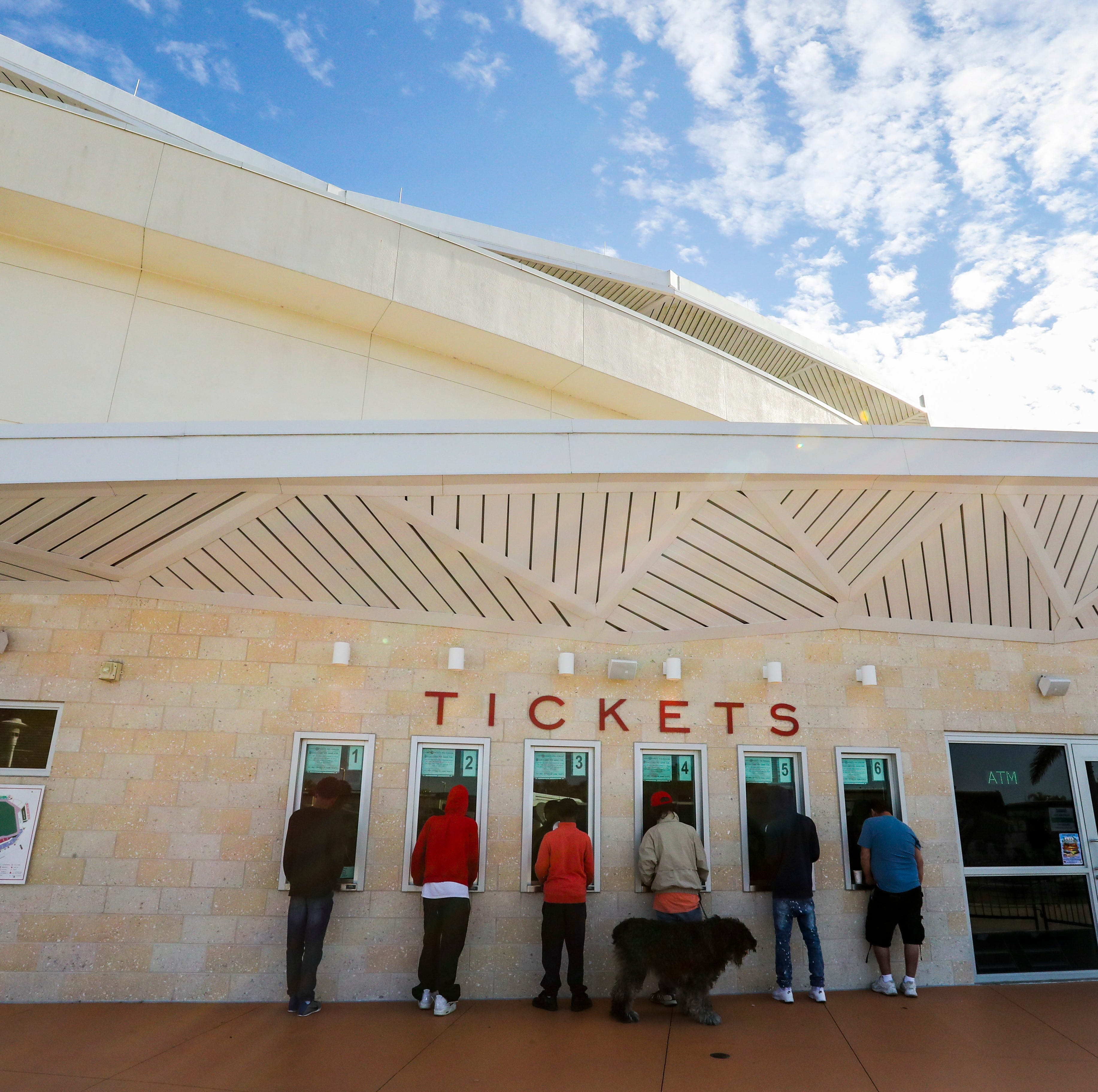 Red Sox fans not plentiful as in past but they still travel well for their spring training tix