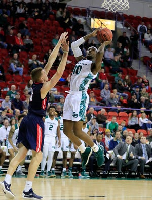 UWGB forward Tank Hemphill is progressing well after a knee injury all but wiped out his 2019-20 season.