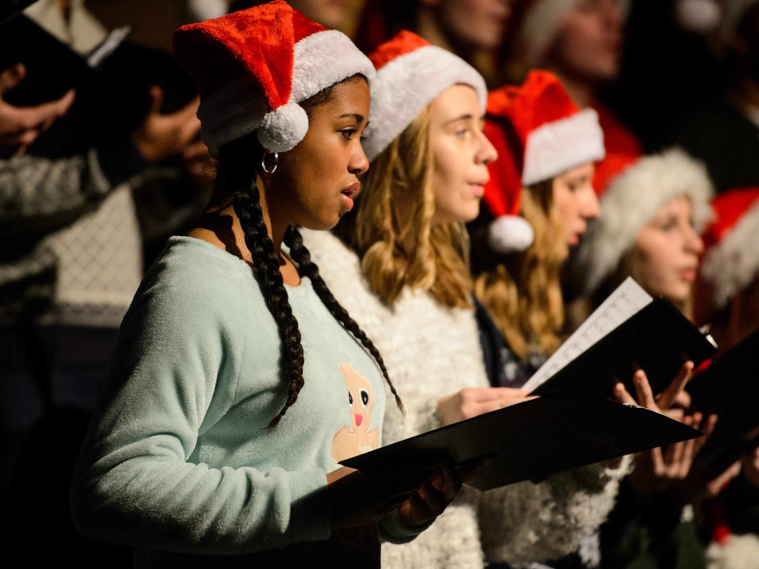 Bob Jones University hosts its annual Christmas Celebration on Friday, Nov. 30, 2018.