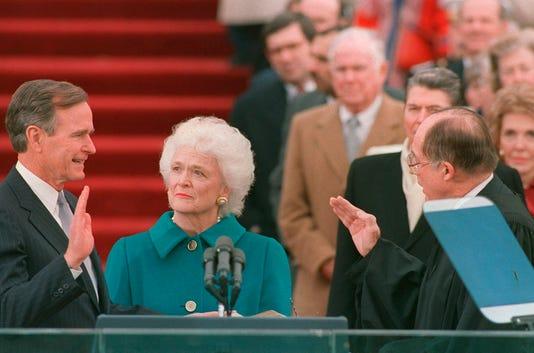 Inauguration George Bush