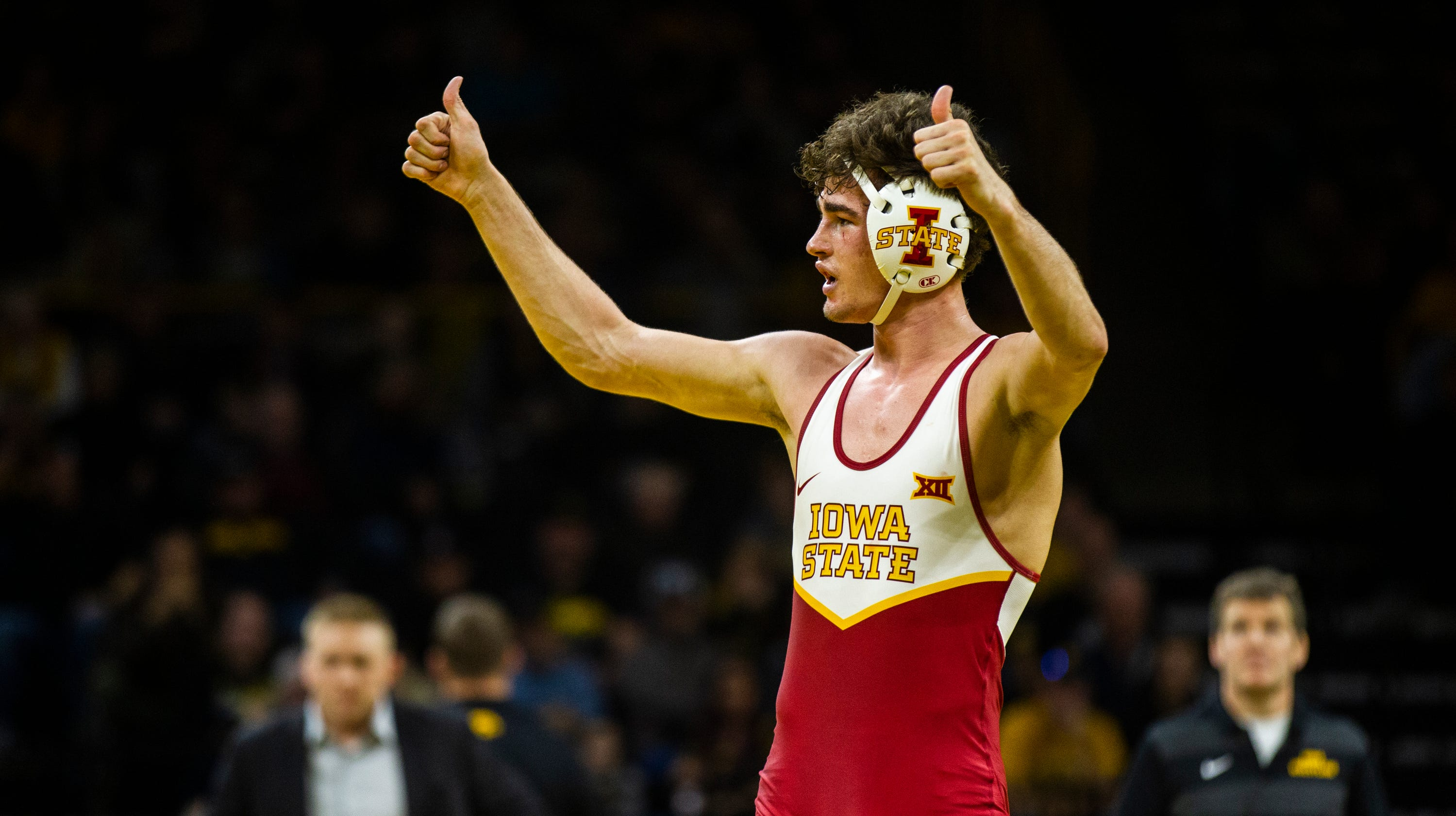 Wrestling: Iowa State Extends Dual Winning Streak To Five