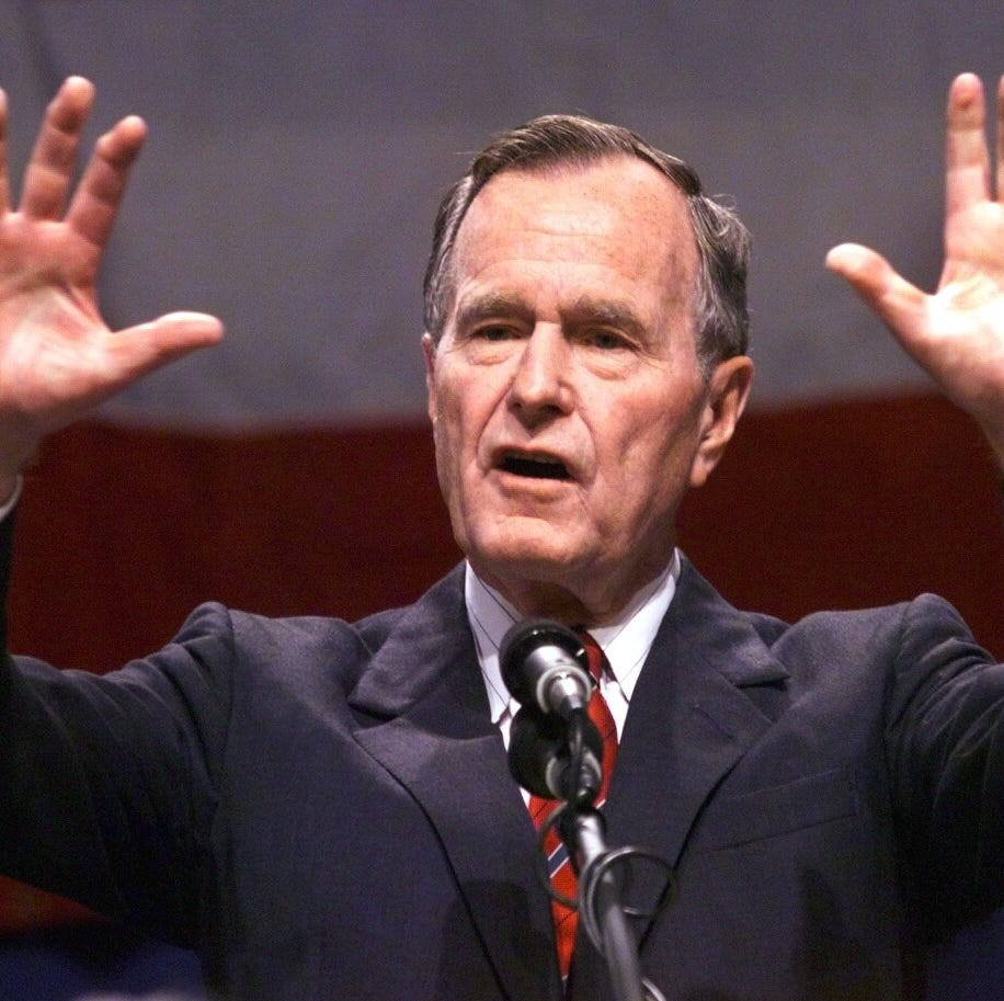 Op-ed: Remembering George H.W. Bush: gracious, generous