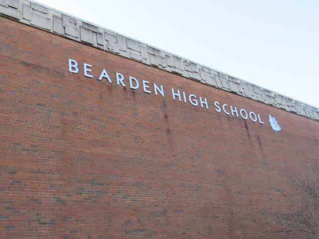 Bearden High School class collects 1,400 pairs of socks for