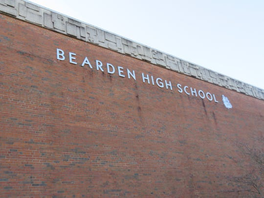 Bearden High School present-day building, 2018