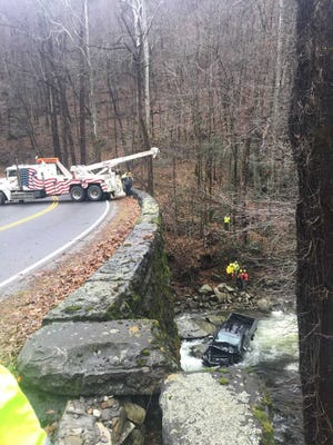 Wanda Strunk, 62, of Oneida, died on Saturday, Dec. 1, when a pickup truck she was riding in left the pavement on Newfound Gap Road in the Smokies and fell 40 feet into the river below.