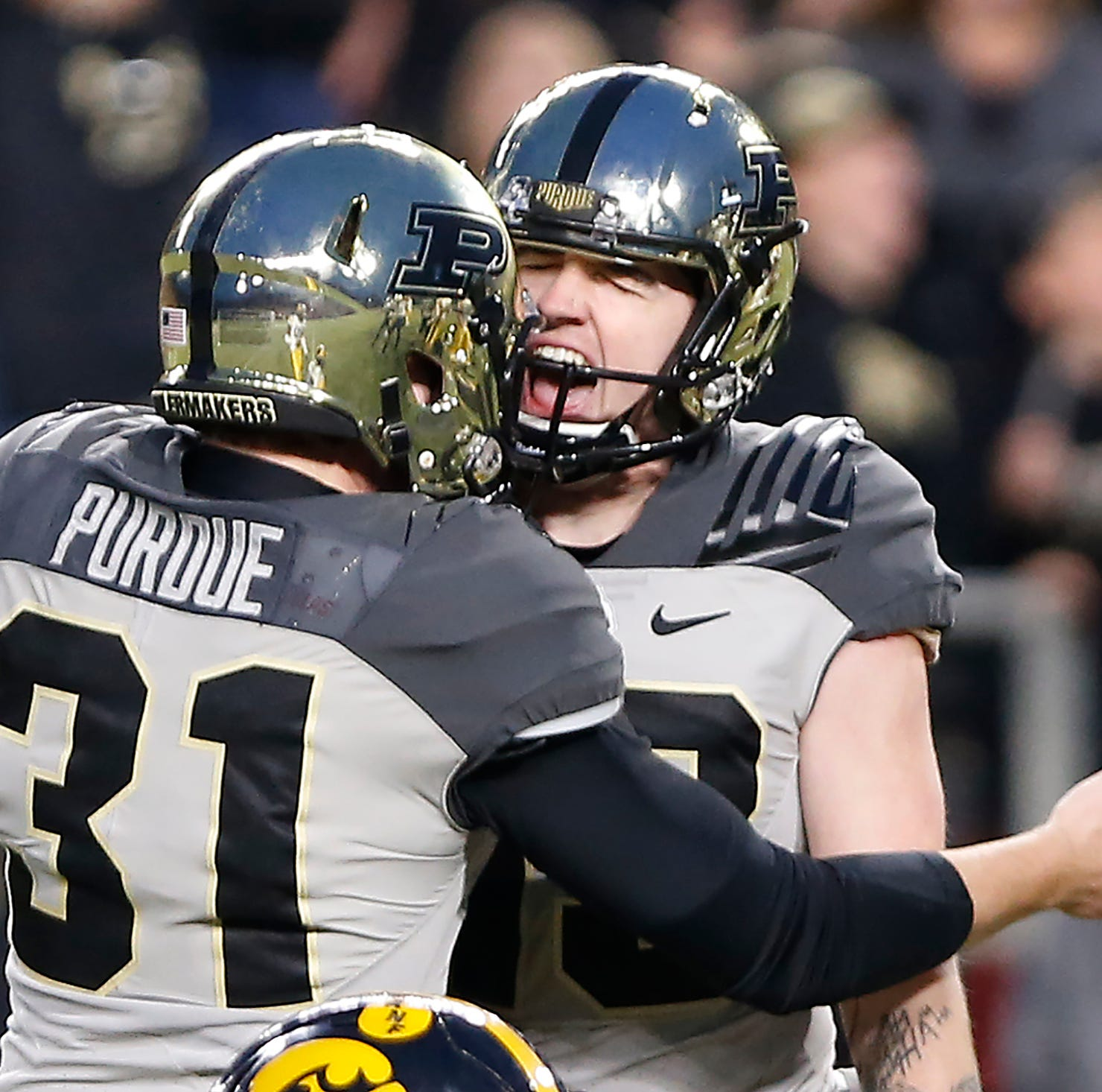 Purdue's Spencer Evans eager to join Chicago Bears kicking competition