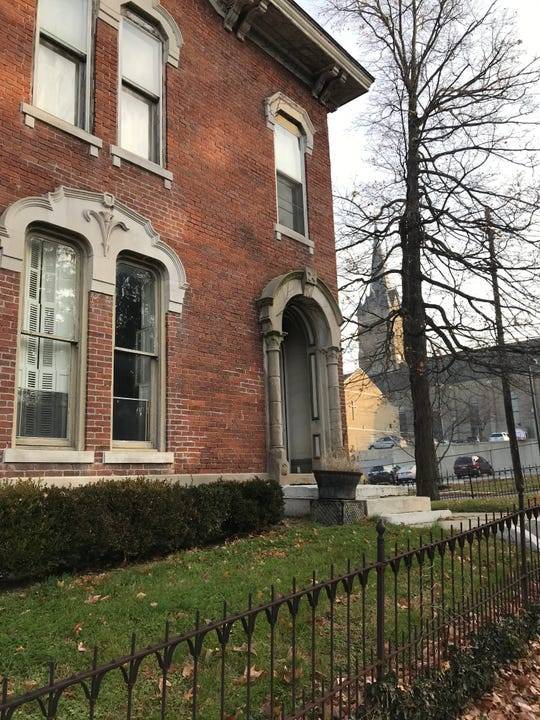 Cathedral of St. Mary leaders plan to ask to take down this 19th century house at 1014 South St., which has brought a protest among neighbors and the Wabash Valley Trust for Historic Preservation.