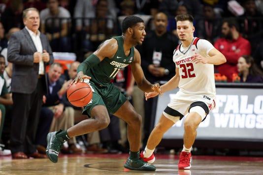 Ncaa Basketball Michigan State At Rutgers