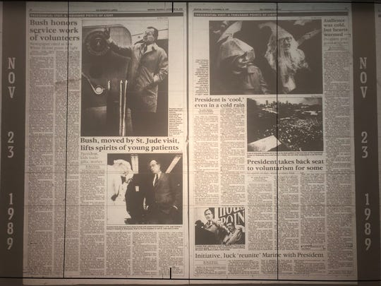 President George H.W. Bush's Memphis speech was published in full in The Commercial Appeal on Nov. 23, 1989.