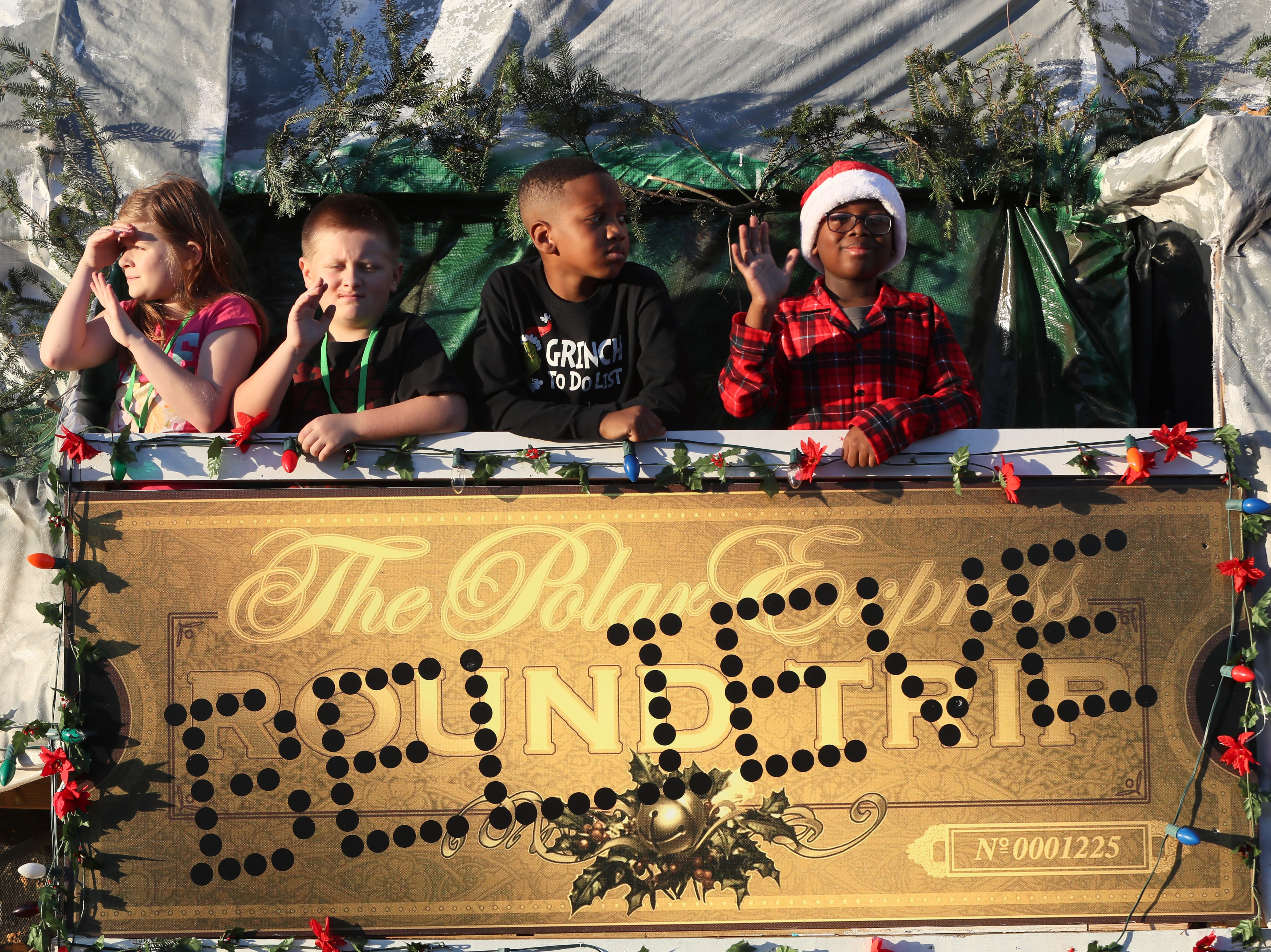 Bartlett Christmas Parade on Stage Road Saturday, Dec. 1, 2018.
