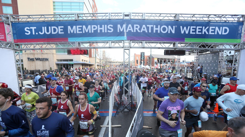 2018 St  Jude Memphis Marathon full results