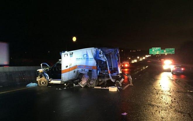 Crash on I-40 East in Nashville left a nurse and patient dead.