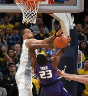 Marquette's Theo John is the Big East leader in blocks with 34.