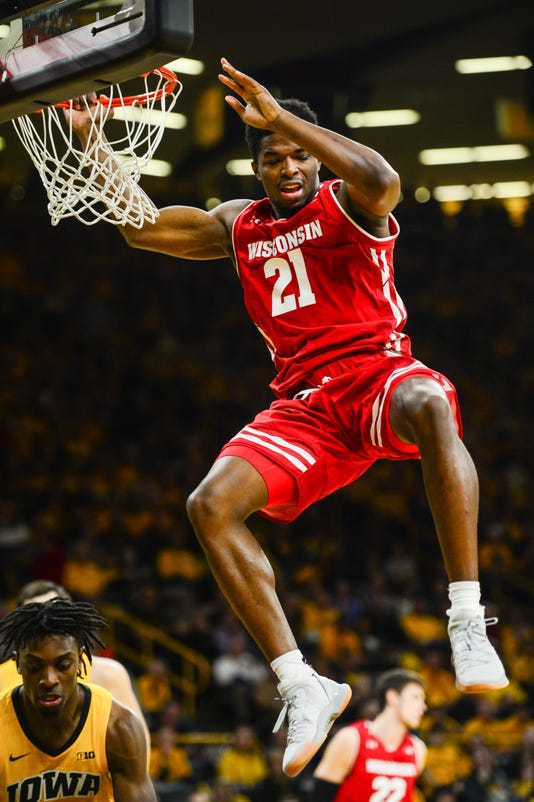 Ncaa Basketball Wisconsin At Iowa