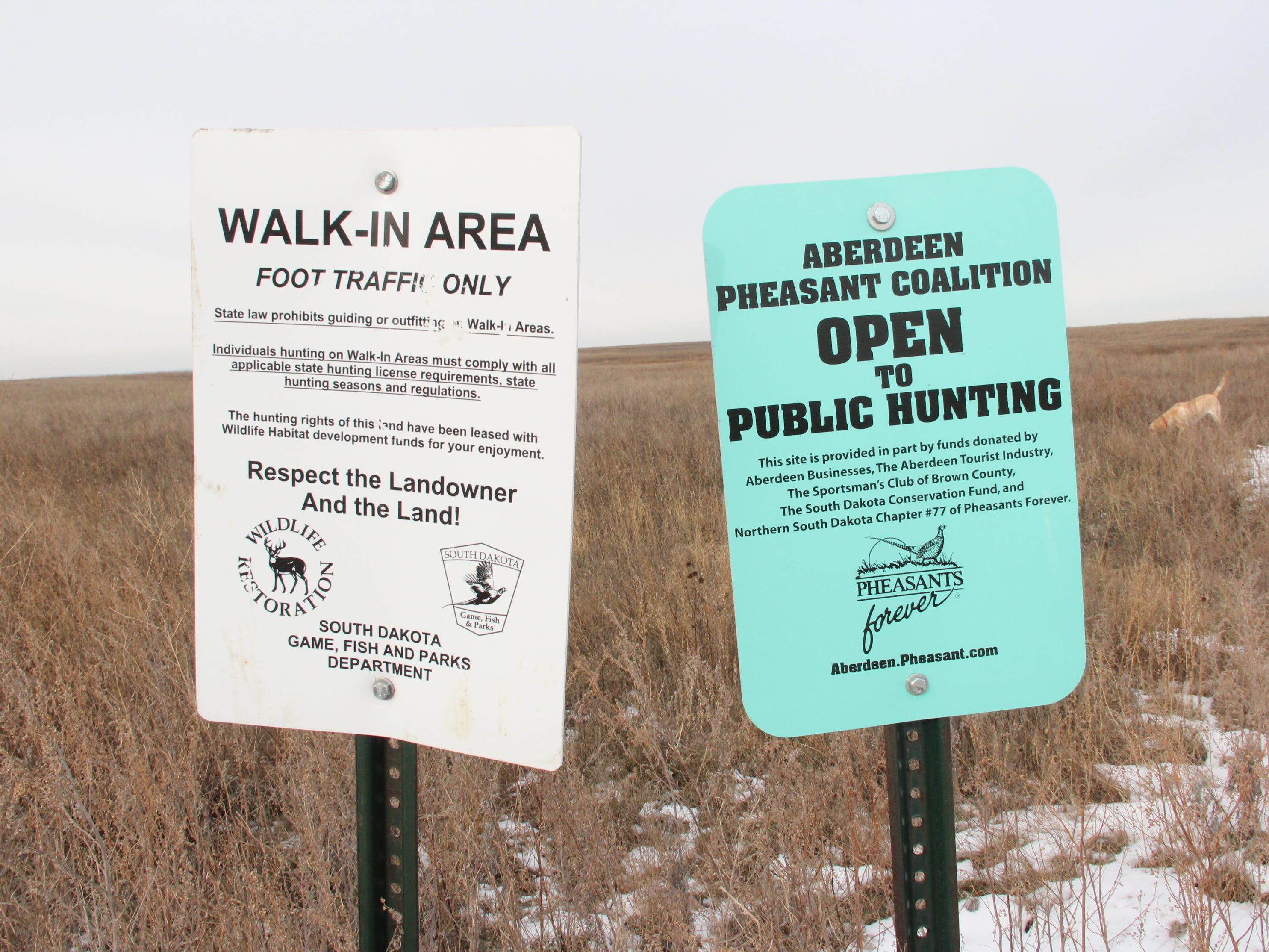 South Dakota offers a range of programs that afford hunters access to private lands as well as more than 5 million acres of public land for hunting.