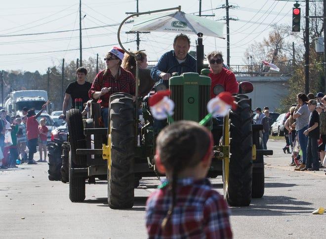 The 12th Annual Bawcomville Redneck Christmas Parade went through Bawcomville, La. on Dec. 1.