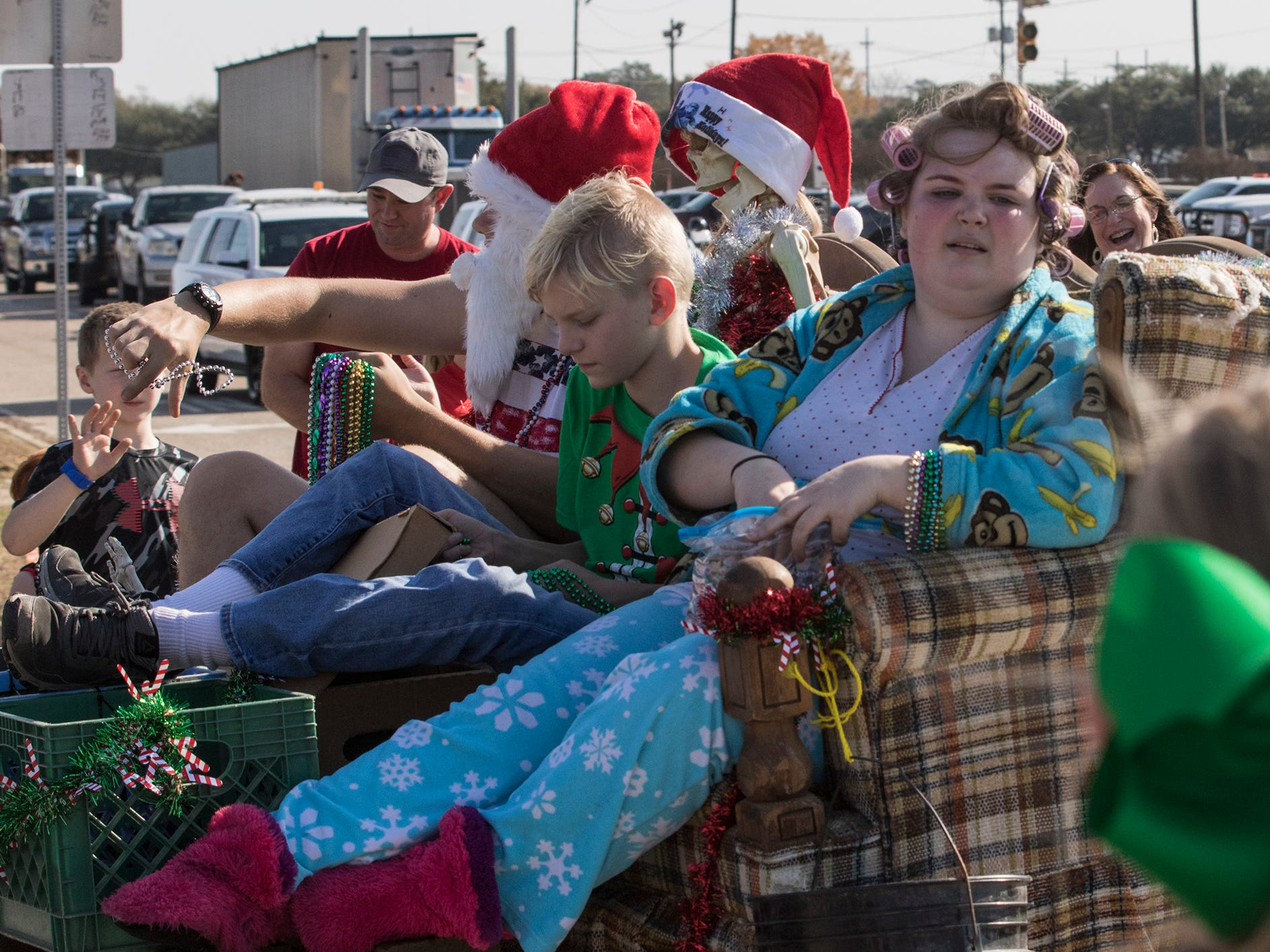The 12th Annual Bawcomville Redneck Christmas Parade went through Bawcomville, La. on Dec. 1.