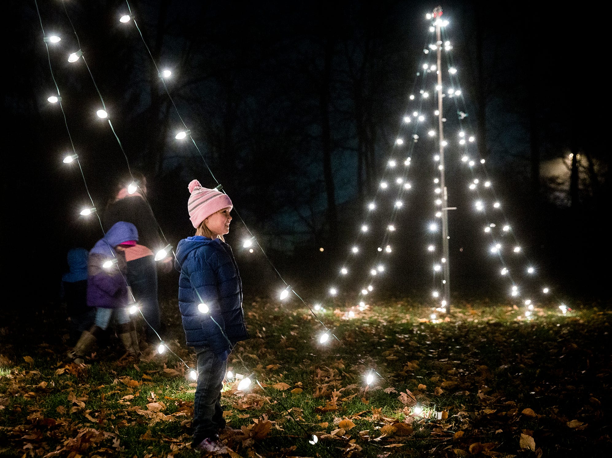 Minnetrista's free, annual community event, the Enchanted Luminaria Walk, returned Friday evening. The event features lights, carriage rides and holiday food and music.The Luminaria Walk continues Saturday from 6-9 p.m.