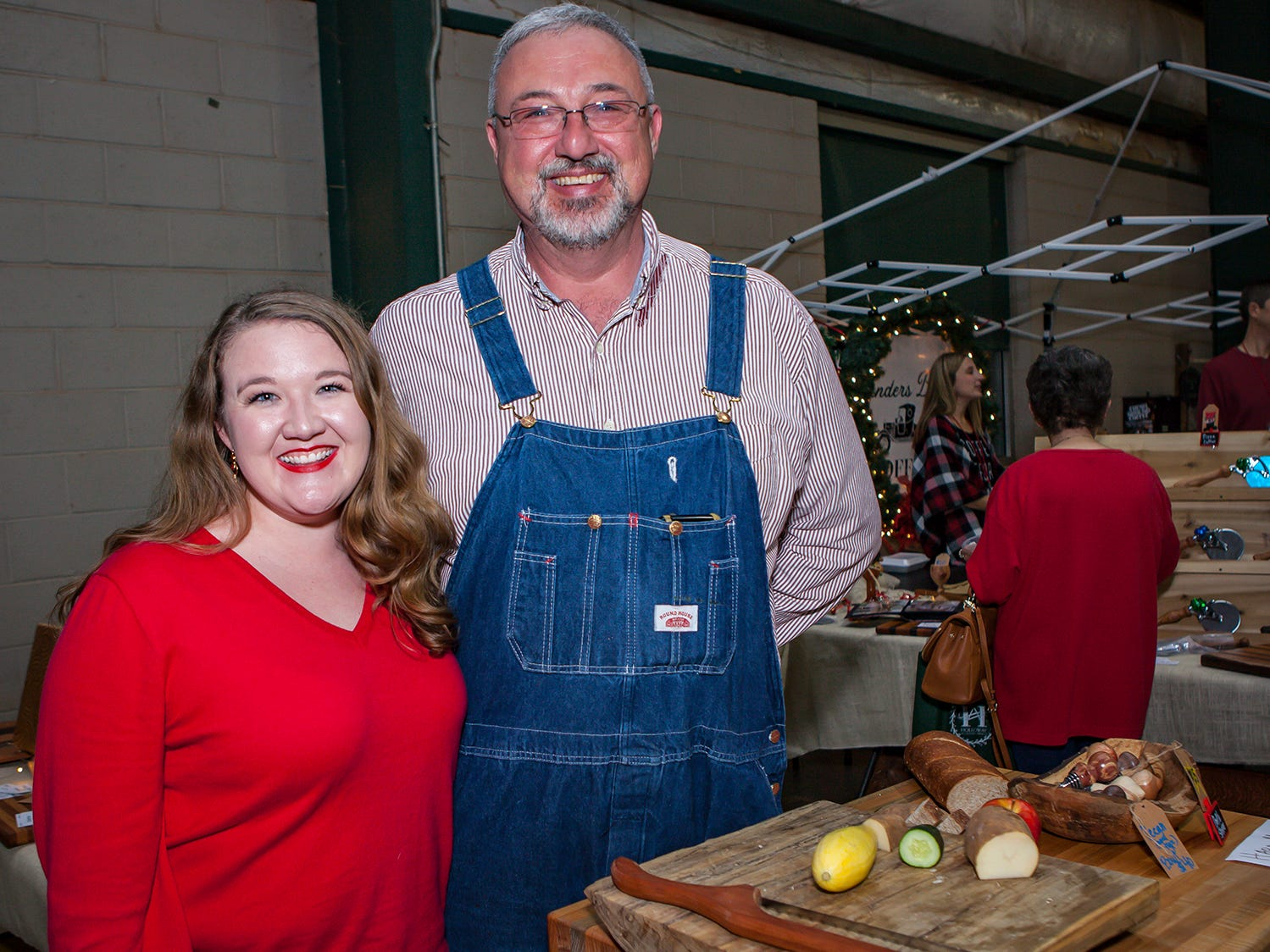 Whitney and Steve Hopper at Mistletoe & Martinis, the preview party for Junior League of Murfreesboro's 2018 Hollyday Marketplace.