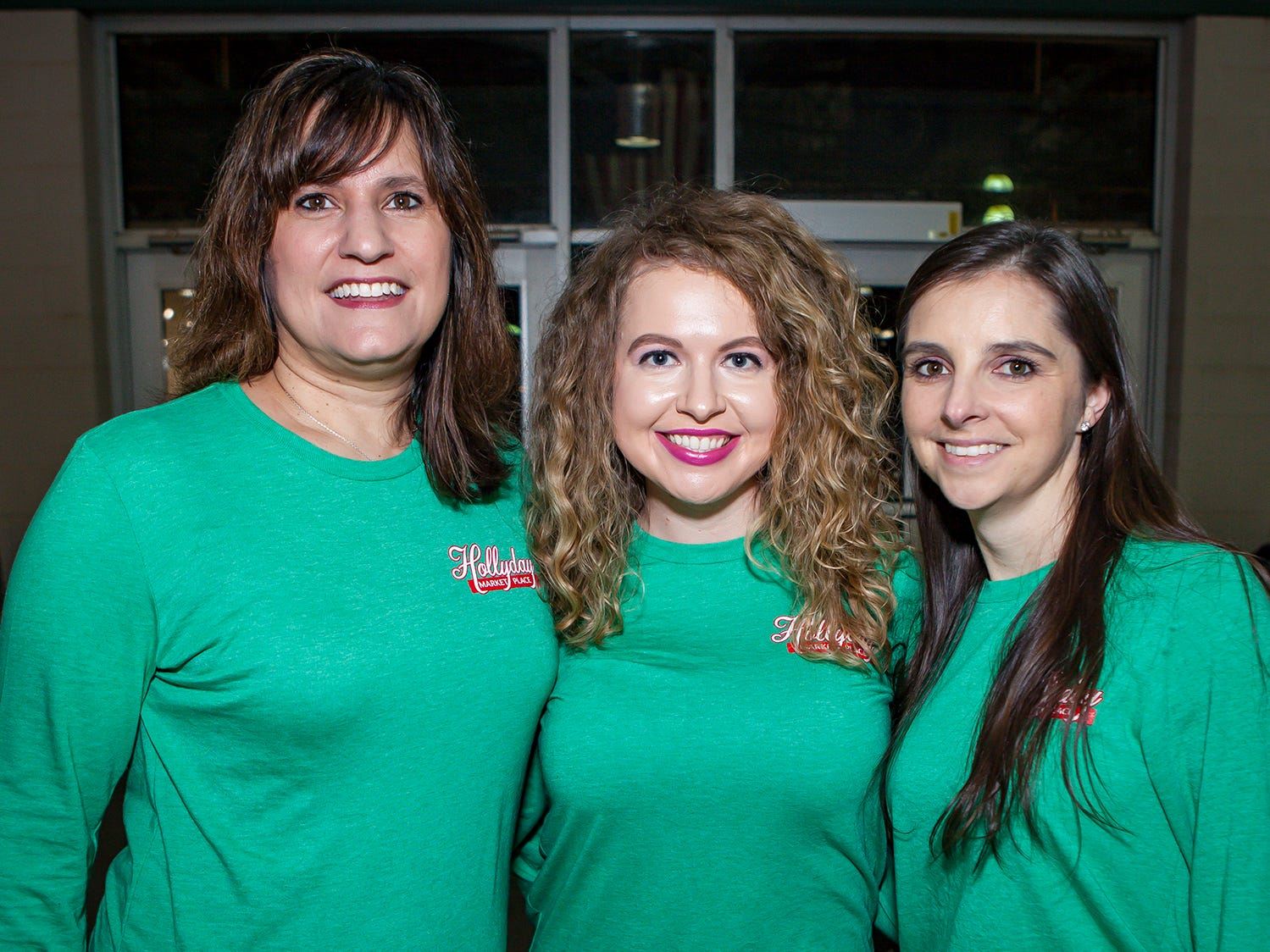 Lisa Warner, Brittany Stevens and Jaclyn Fisher at Mistletoe & Martinis, the preview party for Junior League of Murfreesboro's 2018 Hollyday Marketplace.