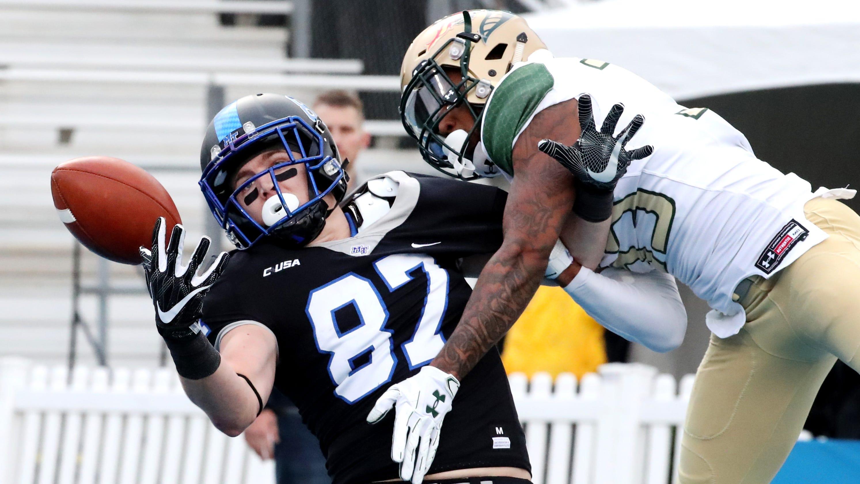 MTSU football: UAB wins Conference USA championship game 27-25