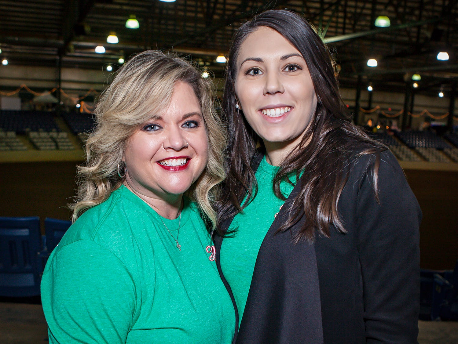 Dena Rieben and Jamie Herrington  at Mistletoe & Martinis on Friday, Nov. 30, the preview party for the Junior League of Murfreesboro's 2018 Hollyday Marketplace.