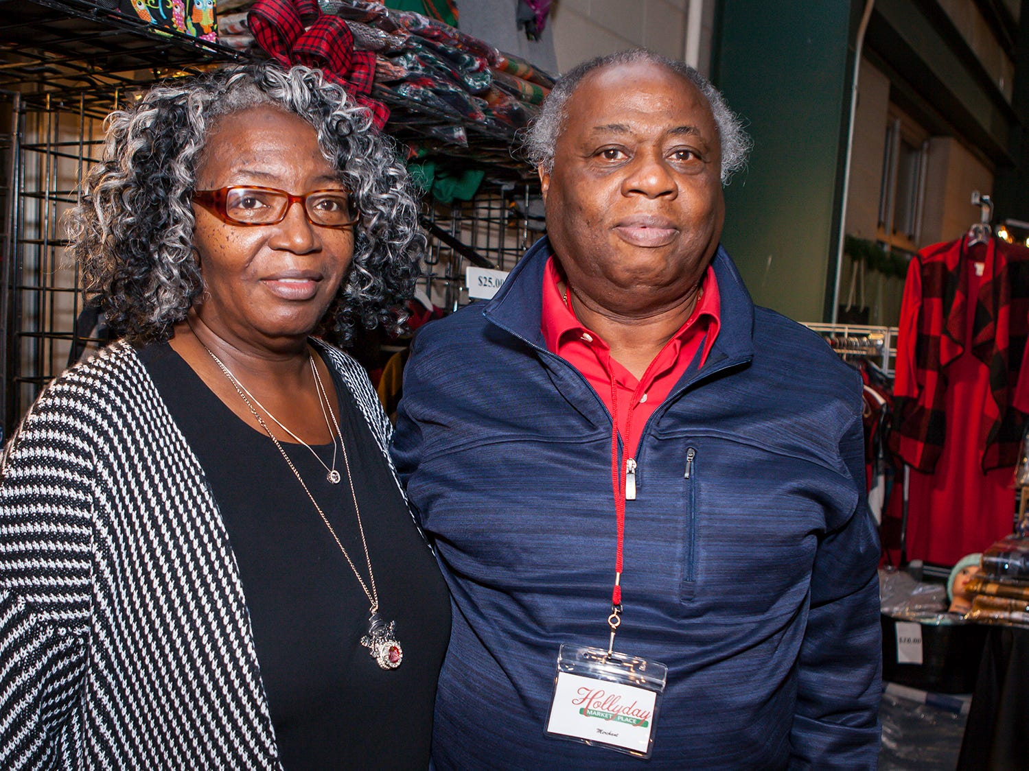 Stephanie Jordan and Willie Malone at Mistletoe & Martinis, the preview party for Junior League of Murfreesboro's 2018 Hollyday Marketplace.
