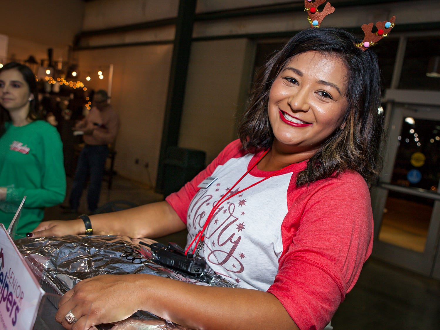 Francela Salas at Mistletoe & Martinis on Friday, Nov. 30, the preview party for the Junior League of Murfreesboro's 2018 Hollyday Marketplace.