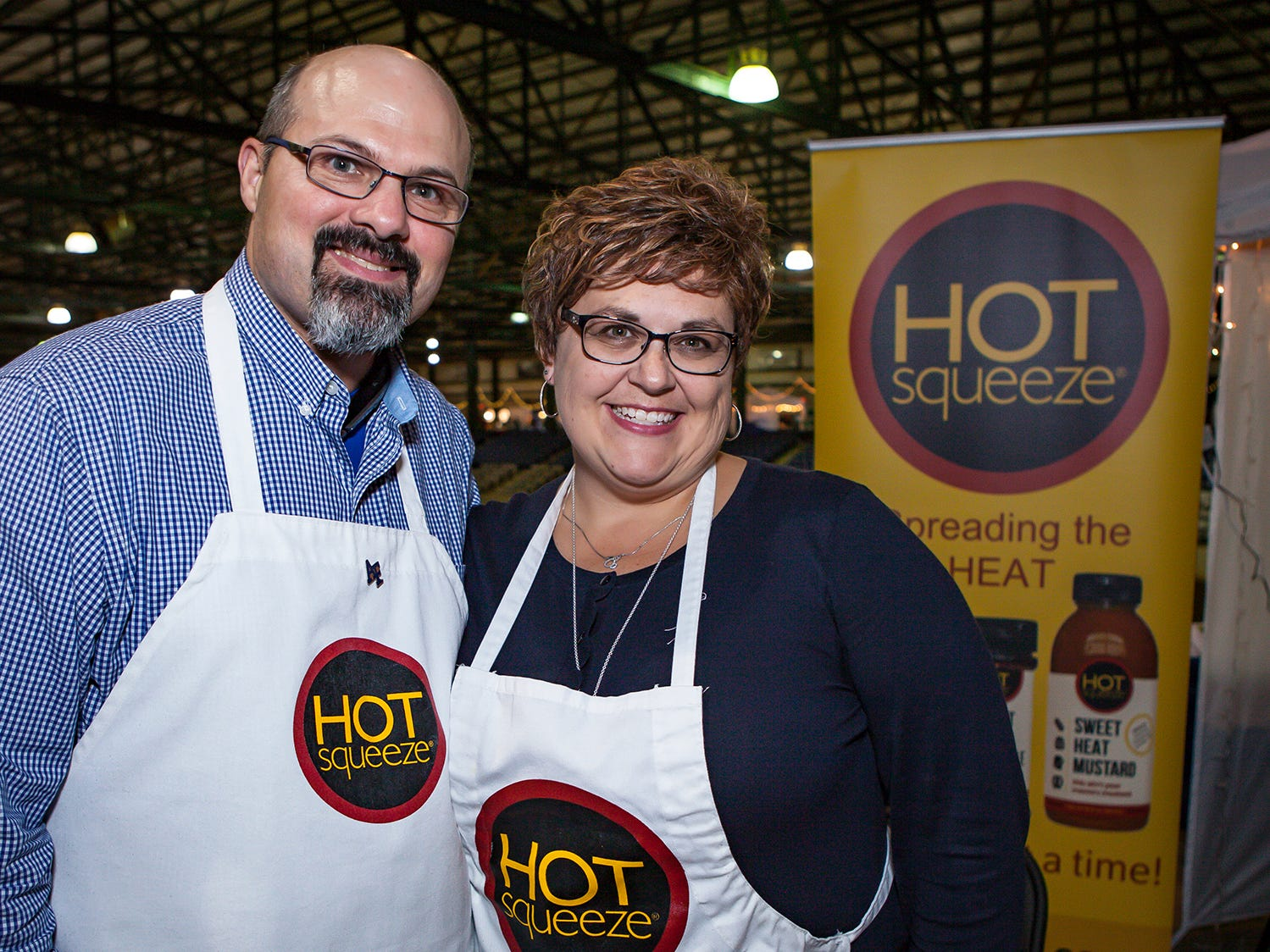 Scott and Leigh Ann Harbort at Mistletoe & Martinis, the preview party for Junior League of Murfreesboro's 2018 Hollyday Marketplace.