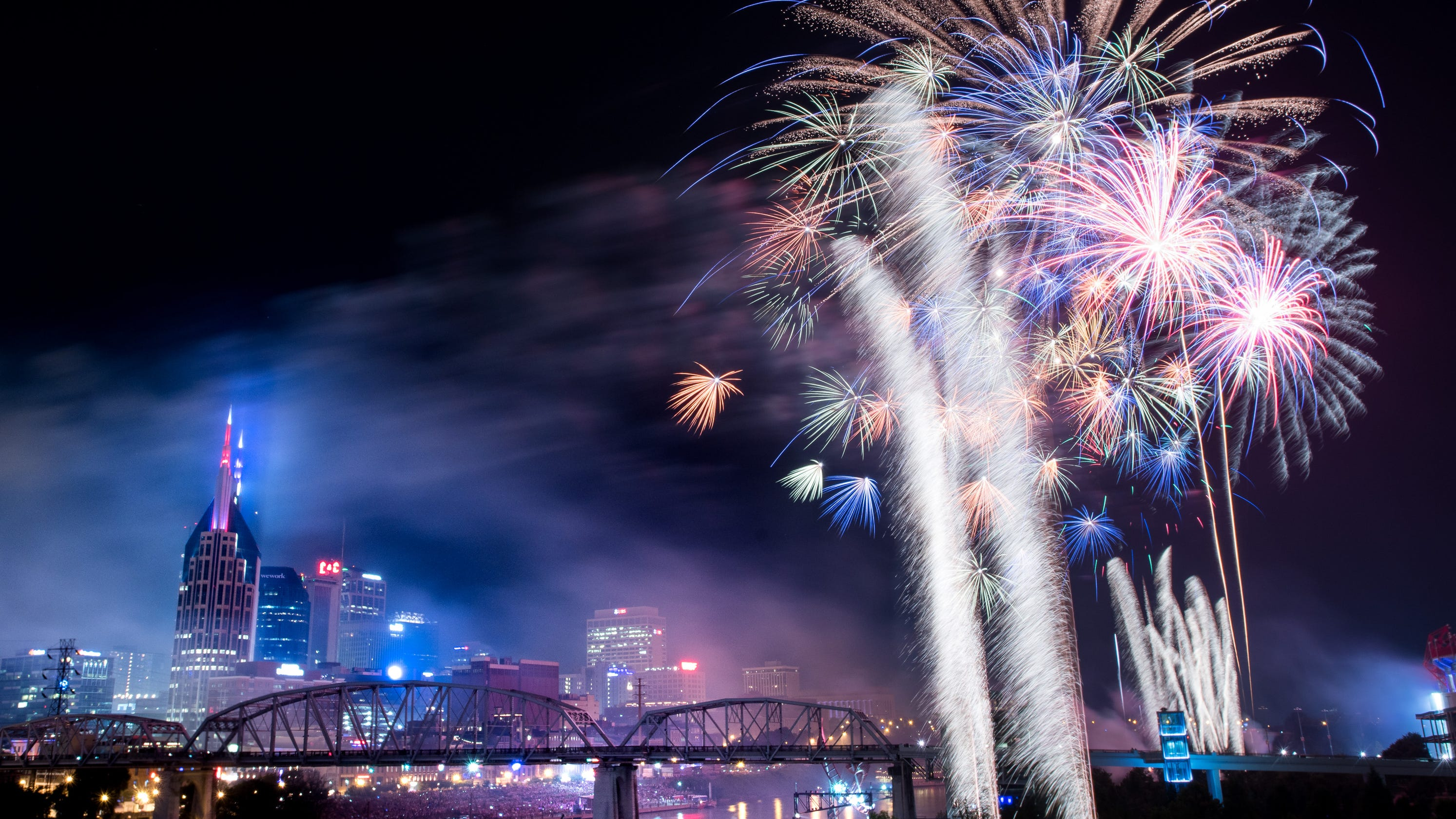 Nashville fireworks: How to watch Music City's 4th of July