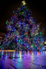 The annual Metro Nashville Christmas Tree Lighting is 6-7 p.m. Friday at Public Square Park.