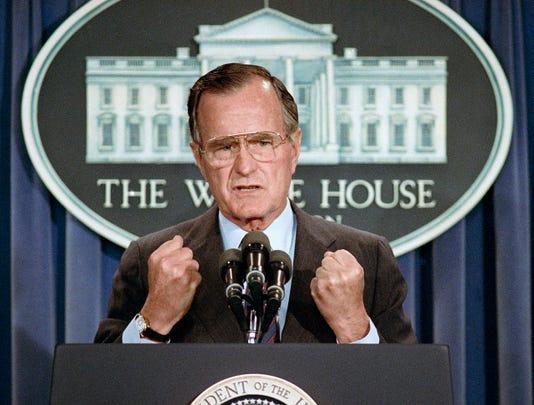 Obit George Hw Bush 25