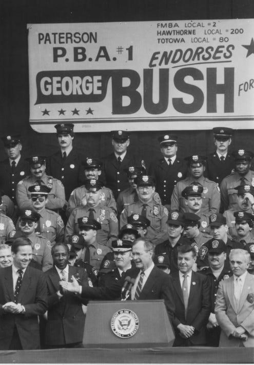 G Bush T Kean